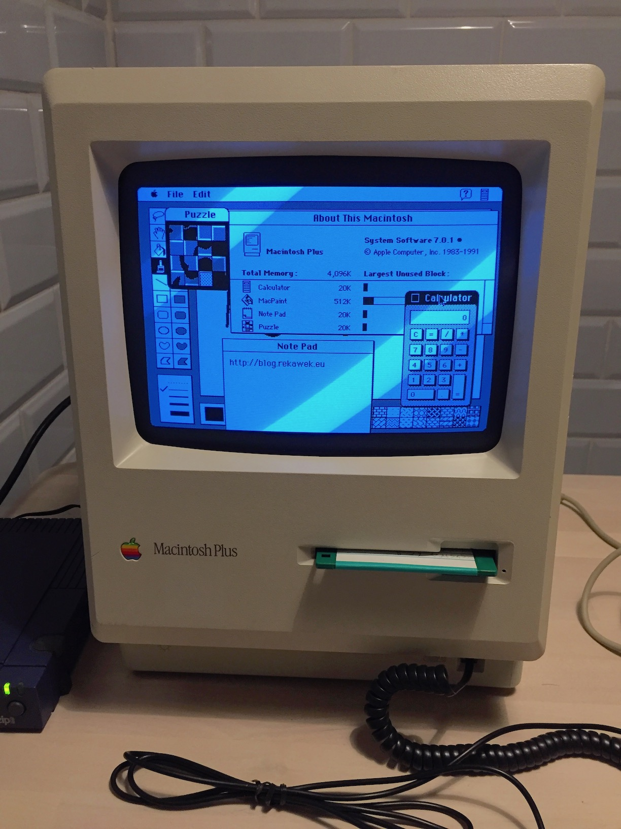 Resurrecting my Macintosh Plus · tomek's blog